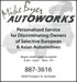 Mike Byer Auto Works Newspaper Ad